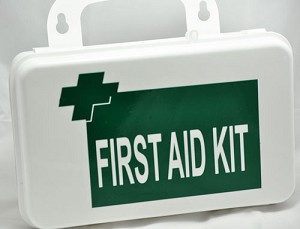 OSHA/ANSI First Aid Kit Class A Metal Case  - Waterproof