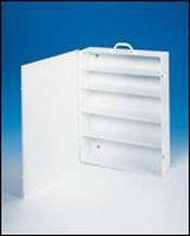 5 Shelf Industrial First Aid Cabinet with Swing Out Door